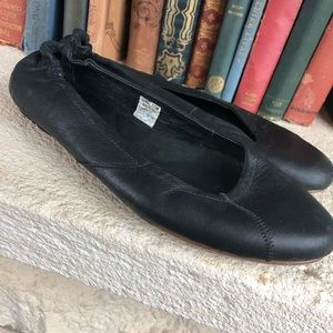 Sorel black ballet ballerina flats size 7.5 soft